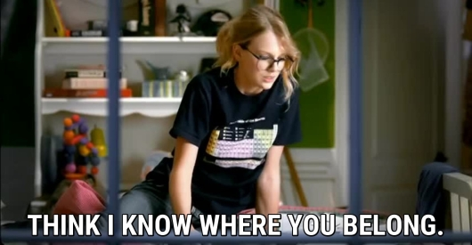 Screenshot from You Belong with Me